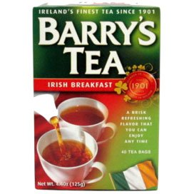 Barry's Irish Breakfast Tea Bags 40 Ct