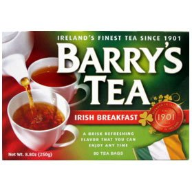 Barry's Irish Breakfast Tea Bags 80 Ct