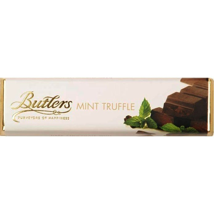 Butlers Dark Chocolate With Crispy Mint Truffle Centre Bar