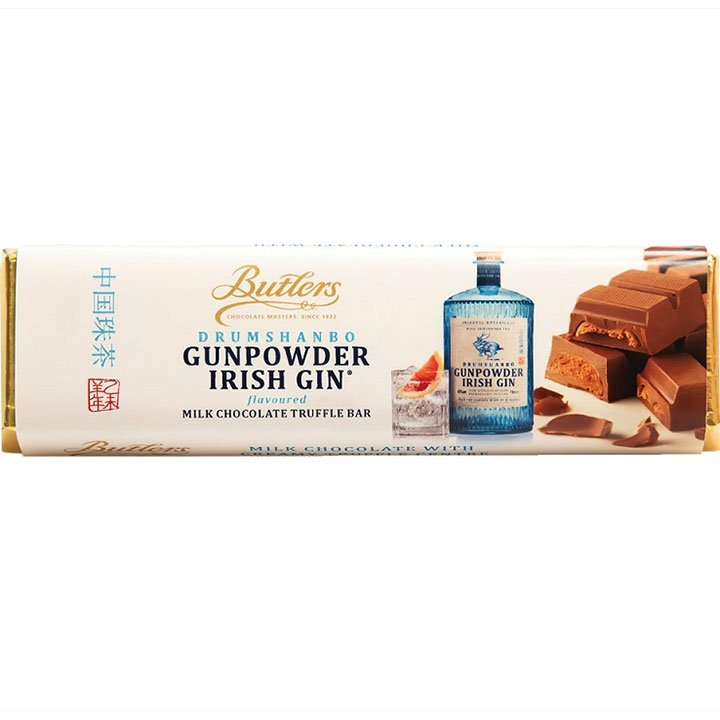 Butlers Drumshanbo Irish Gin Milk Chocolate Truffle Bar