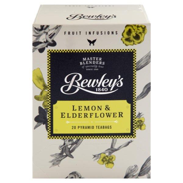 Bewley's Lemon & Elderflower Pyramid Teabags - 20ct