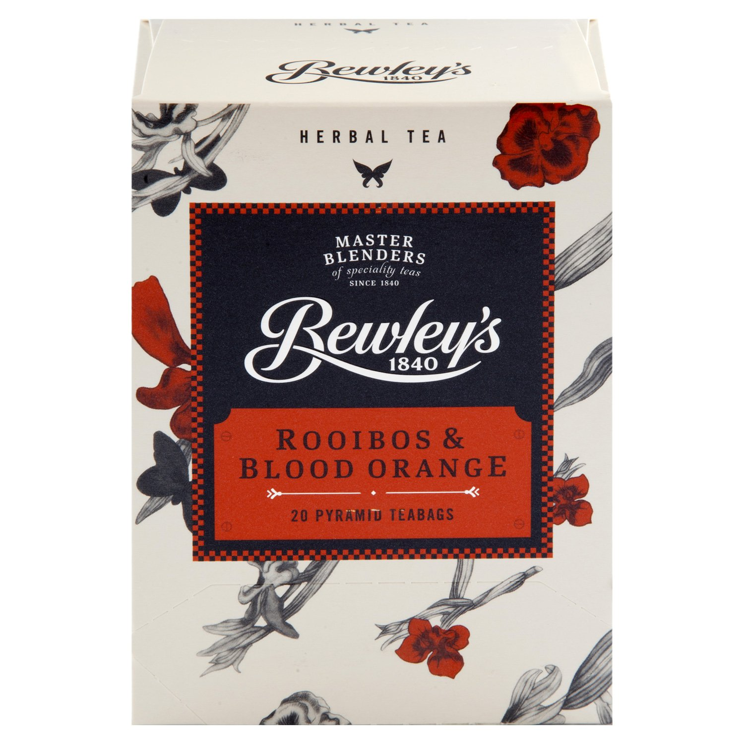 Bewley's Rooibos & Blood Orange Pyramid Teabags - 20 ct