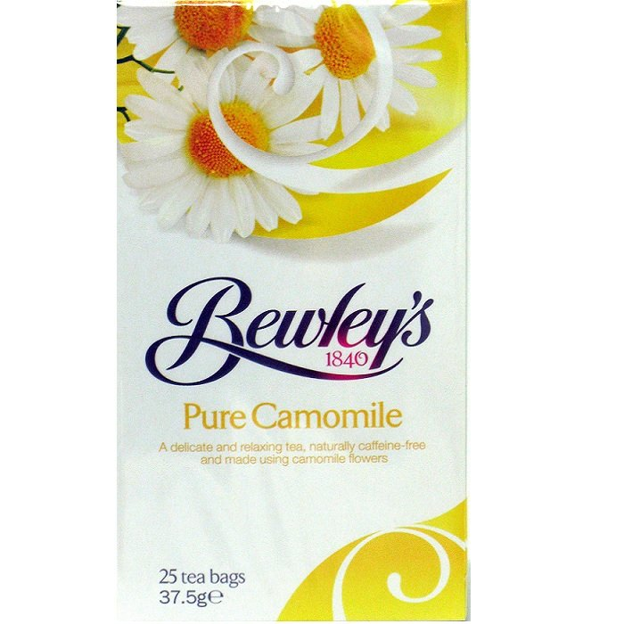 Bewley's Pure Camomile Tea Bags – 25 Ct
