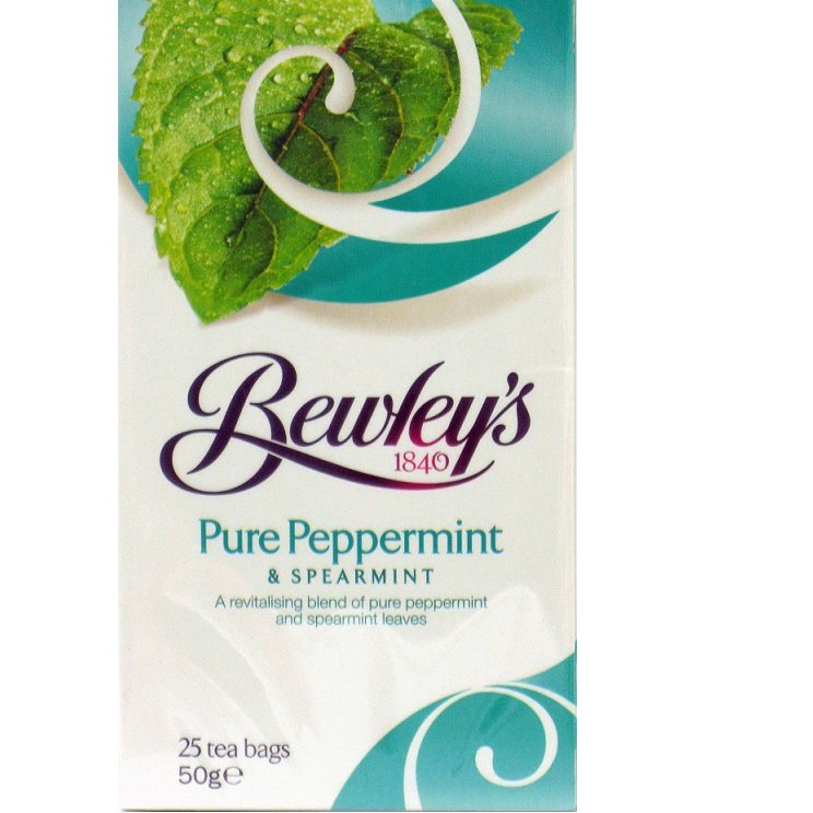 Bewley's Pure Peppermint & Spearmint Tea Bags – 25 Ct
