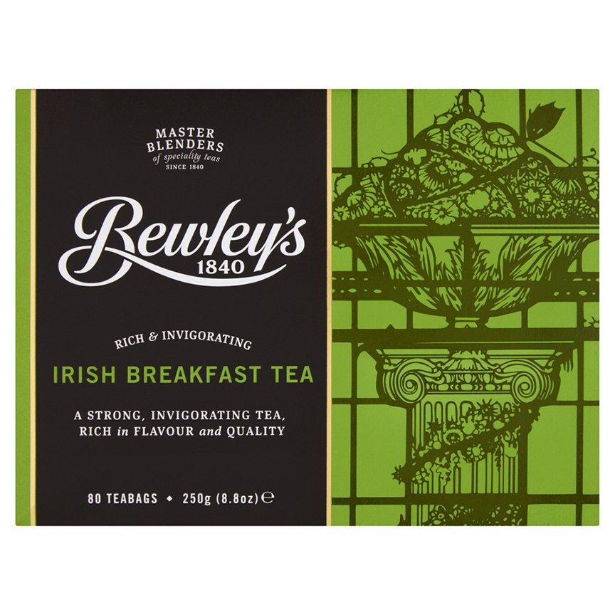 Bewley's Irish Breakfast Teabags 80 Ct