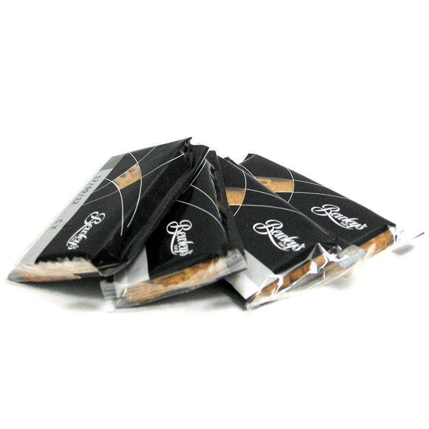 Caramelized Biscuits – Individually Wrapped Sleeve Of  50