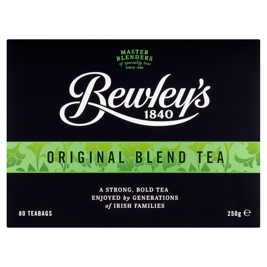 Bewley's Original Blend Tea Bags – 80 Ct