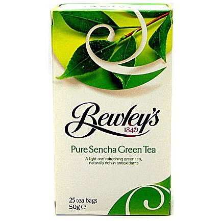 Bewley's Sencha Green Tea Bags – 25 Ct