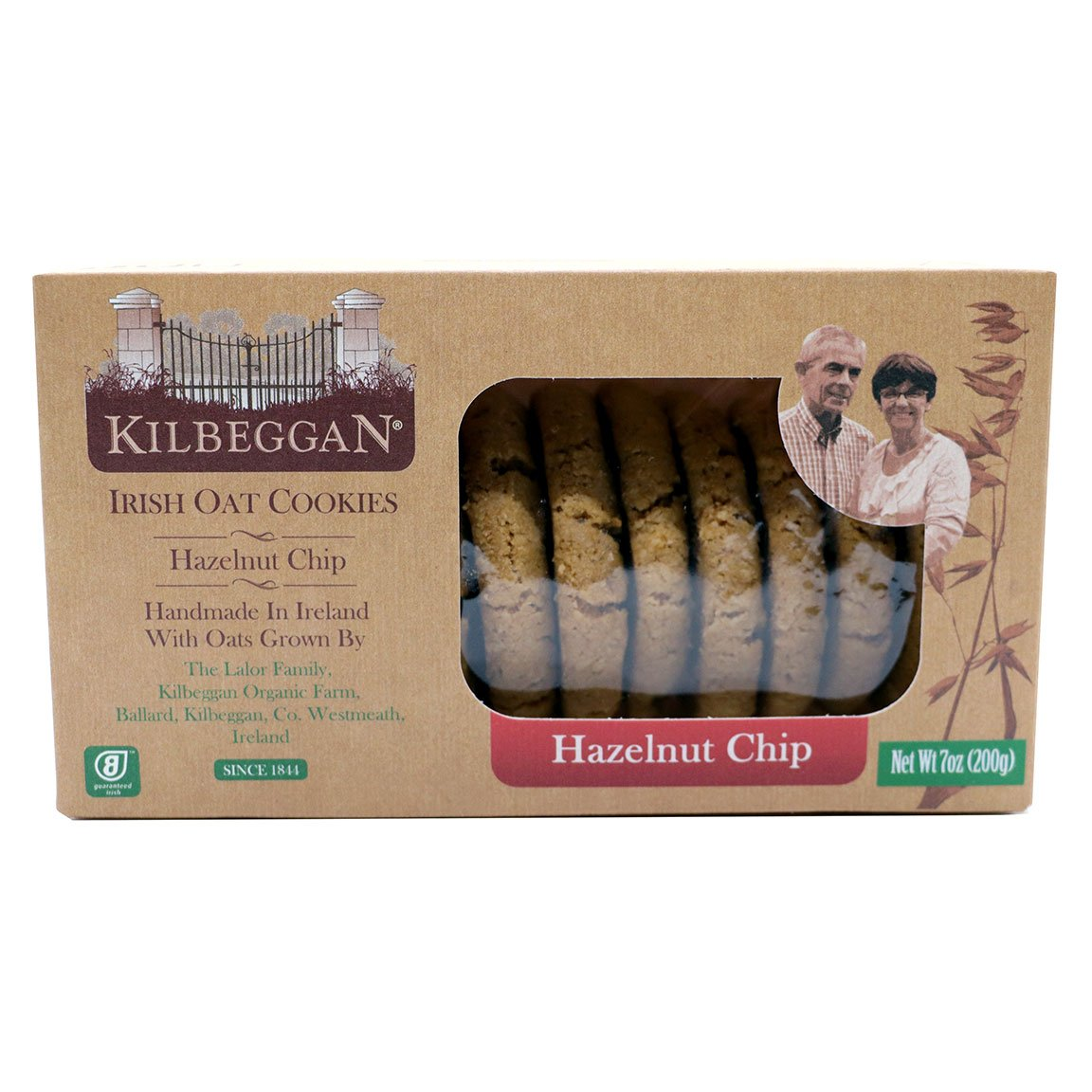 Kilbeggan Hazelnut Chip Irish Oat Cookies