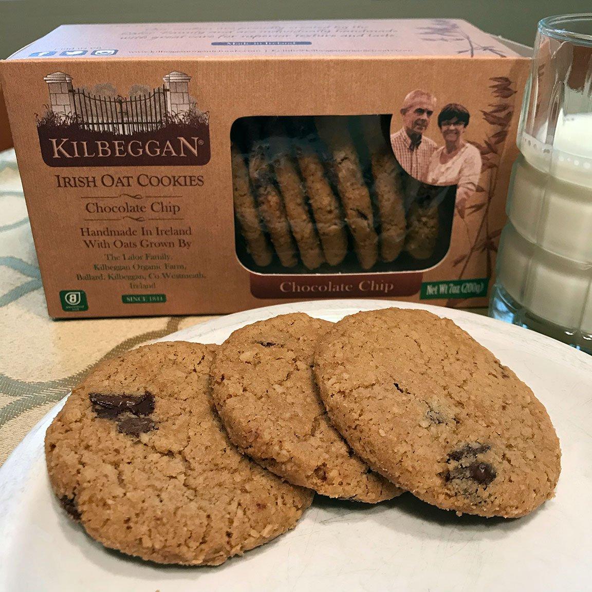 Kilbeggan Chocolate Chip Irish Oat Cookies