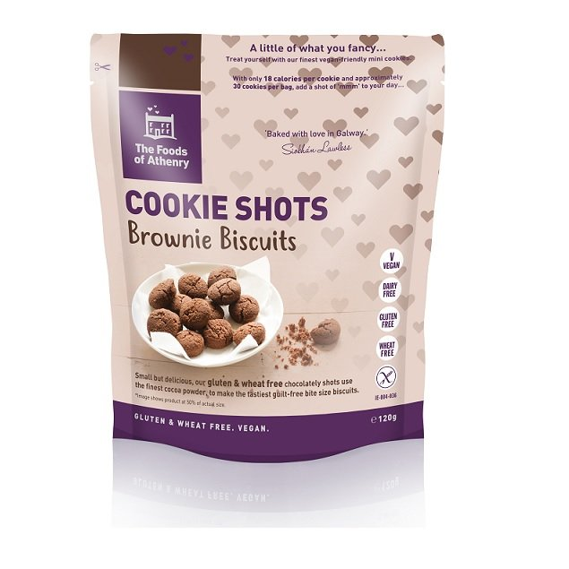 The Foods of Athenry 'Brownie Biscuits' Cookie Shots Gluten Free