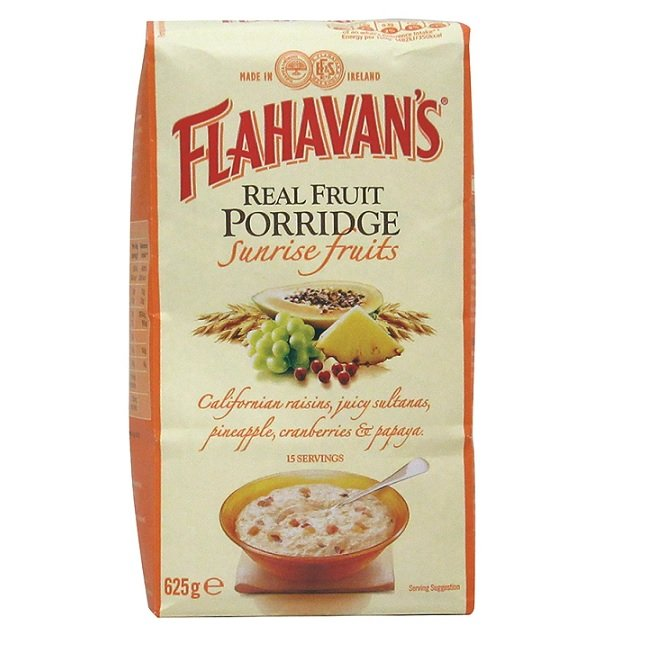 Flahavan's Sunrise Real Fruit Porridge
