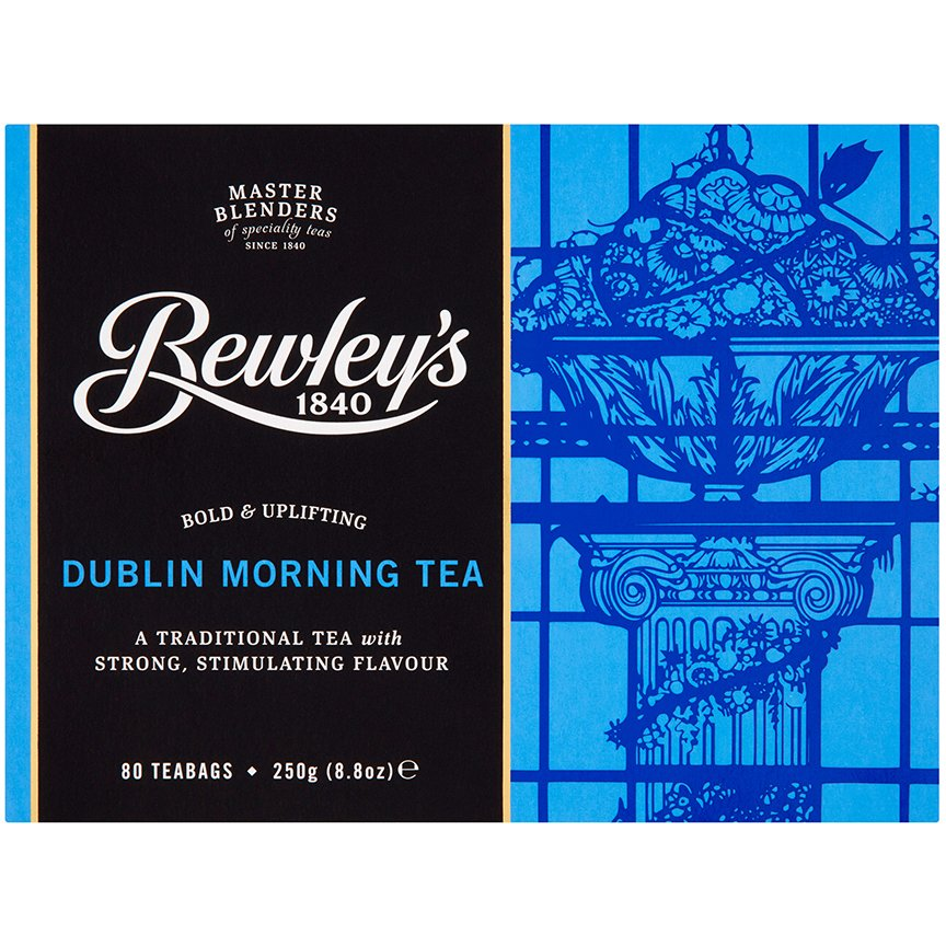 Bewley's Dublin Morning Tea - 80 count box