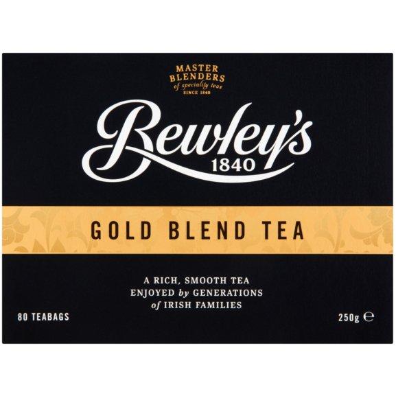 Bewley's Gold Blend Tea - 80 bag count box