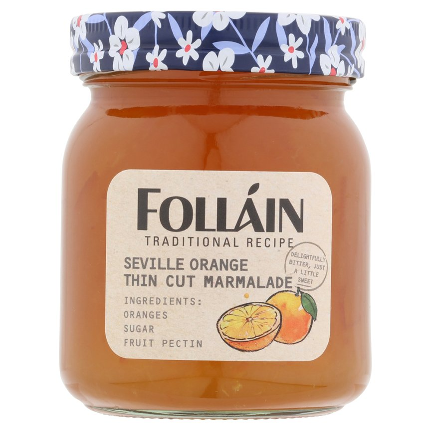 Folláin Seville Orange Thin Cut Marmalade