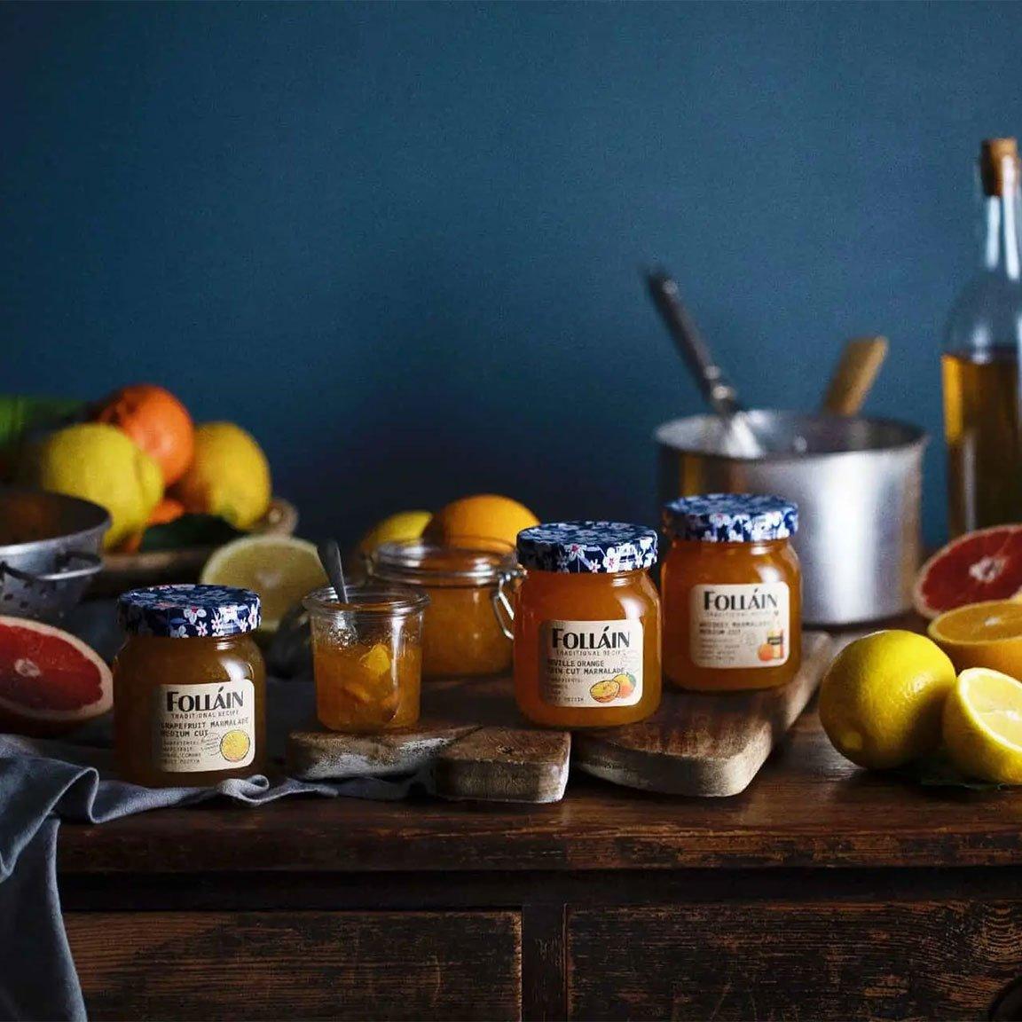 Folláin Seville Orange Thin Cut Marmalade
