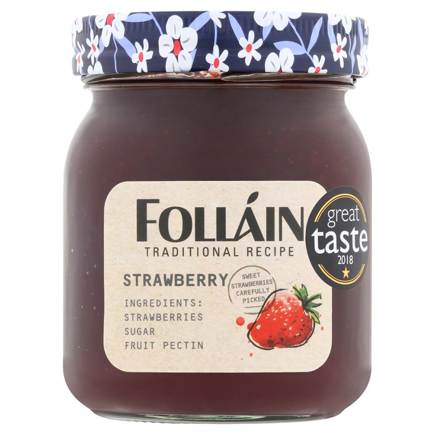 Folláin Strawberry Jam