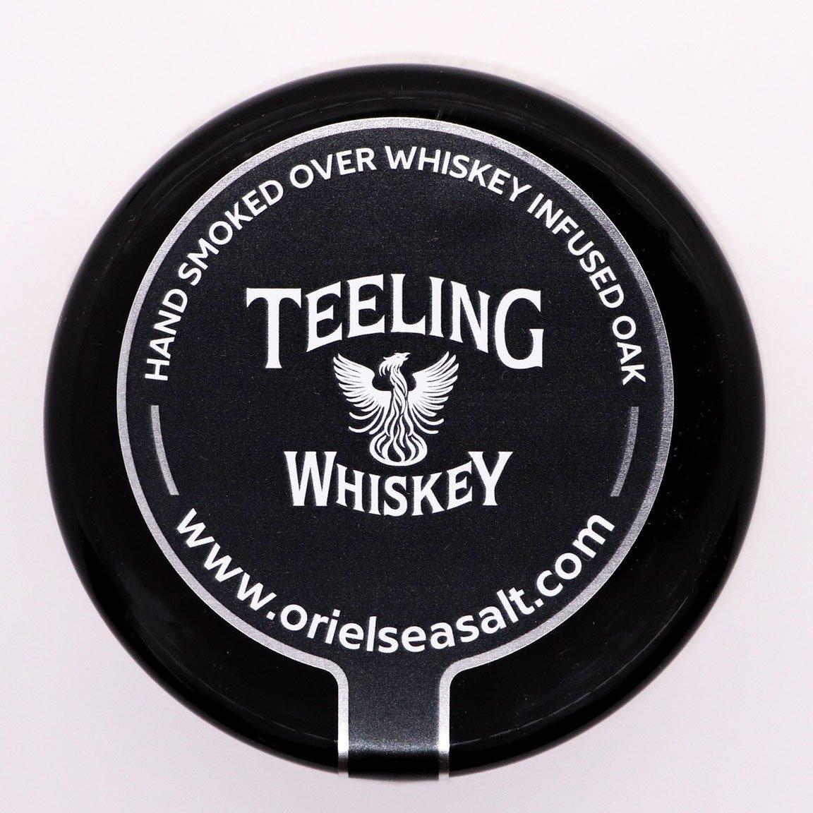 Oriel Sea Salt - Irish Sea Salt Hand Smoked Over Whiskey Infused Oak