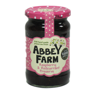 Abbey Farm Raspberry & Redcurrant Preserve
