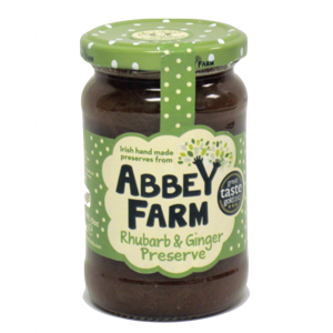 Abbey Farm Rhubarb Ginger Preserve