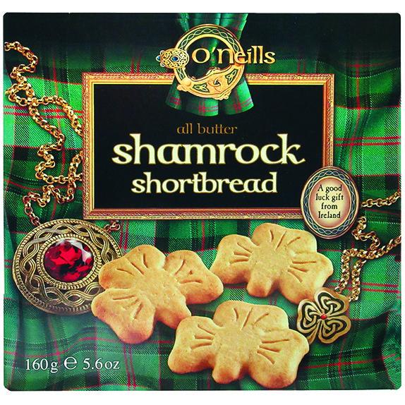 O'Neills Shamrock Shortbread Cookies