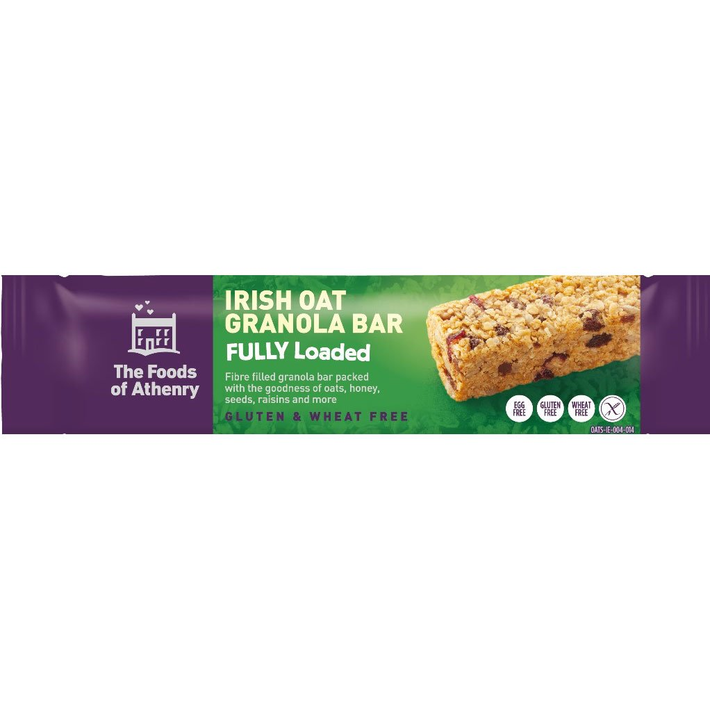 The Foods of Athenry - Irish Oat Granola Bar - Fully Loaded