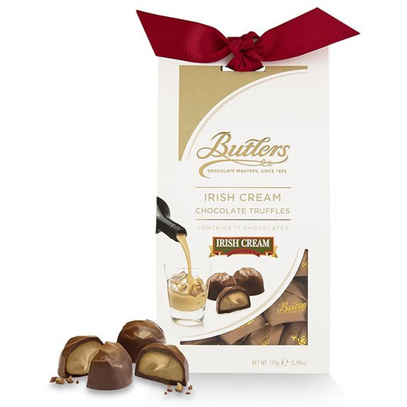Butlers Irish Creme Twist Wrap Truffles in Tampered Box