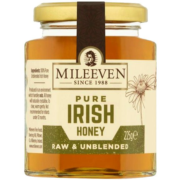 Mileeven Pure Irish Honey - raw & unblended