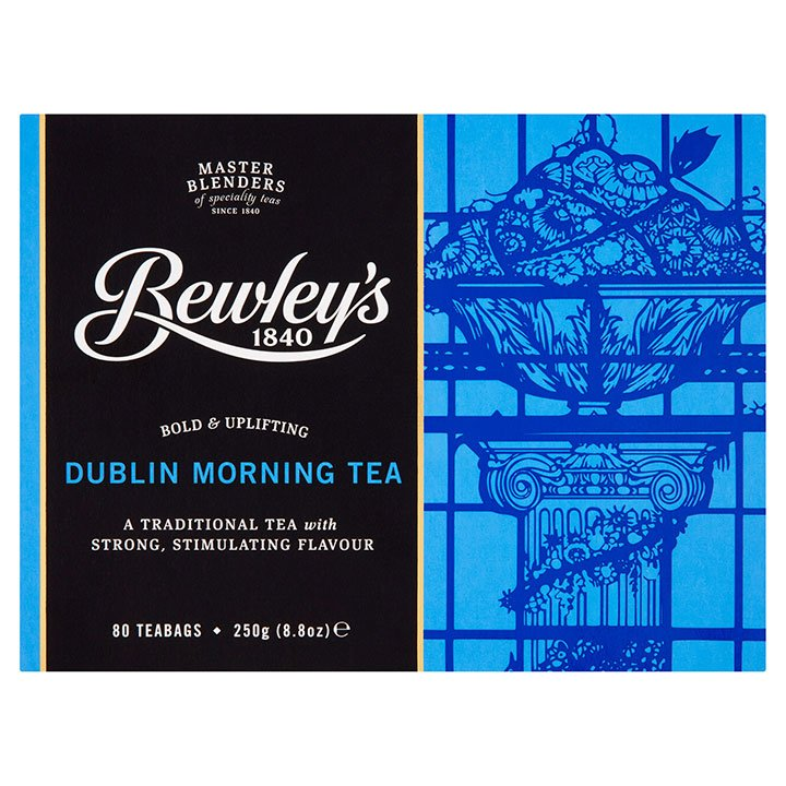 Bewley's Dublin Morning Teabags 80 Ct