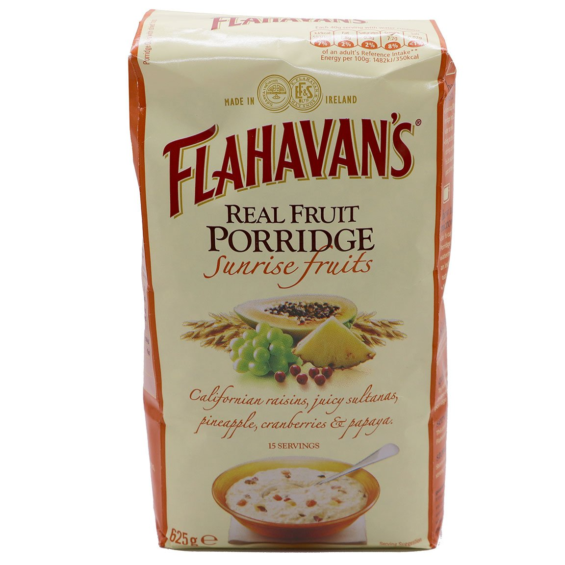 Flahavan's Sunrise Real Fruit Porridge