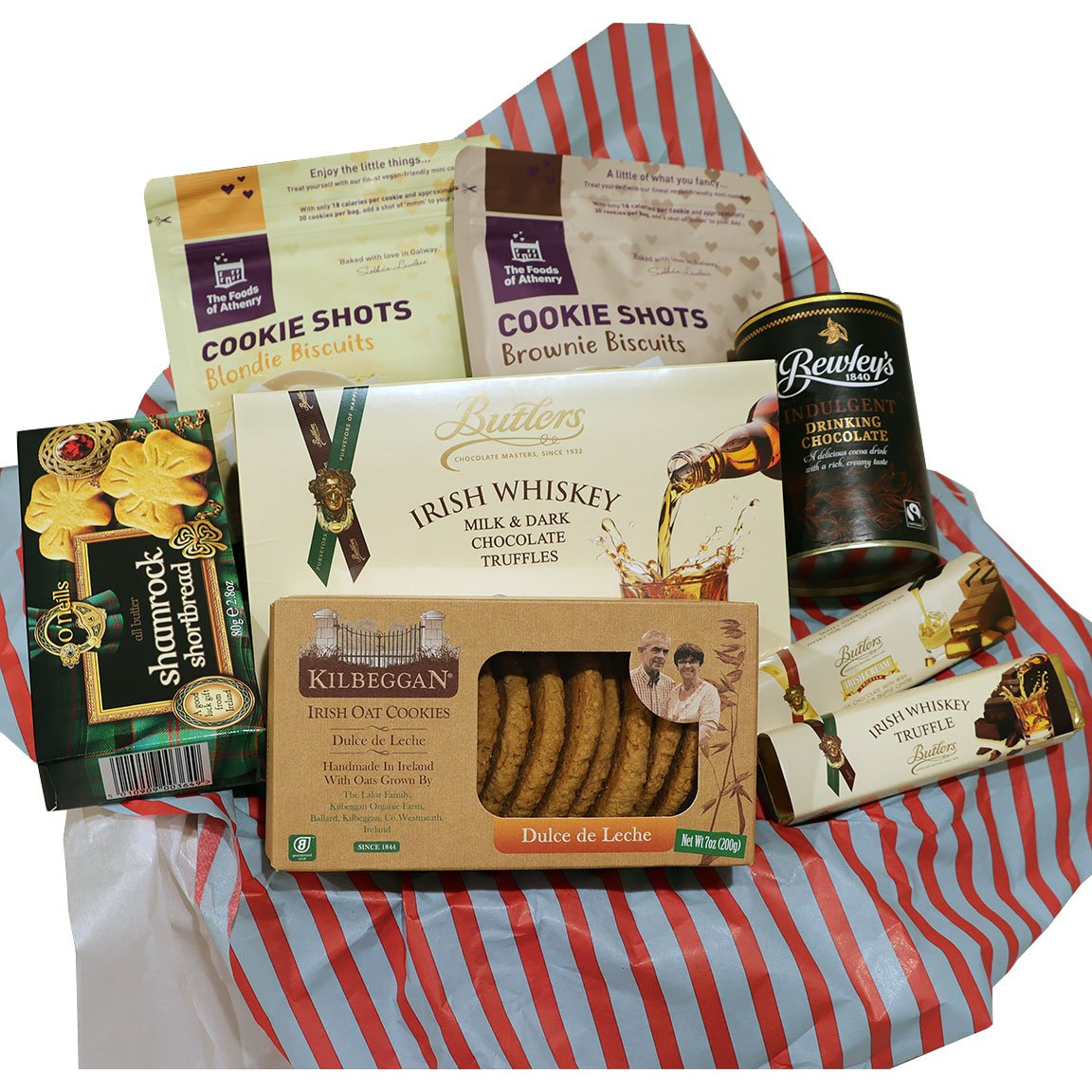 Spirited Chocolate & Cookie Snack Basket